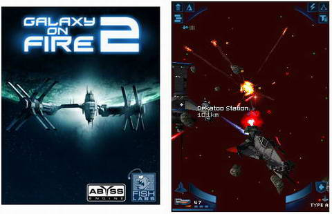 Игра Galaxy On Fire 2 На Андроид 320 240