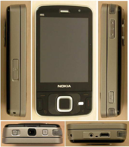 Nokia n96 unboxing pics and video