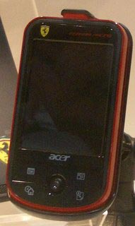 Acer c500 Ferrari Racing Travel Companion