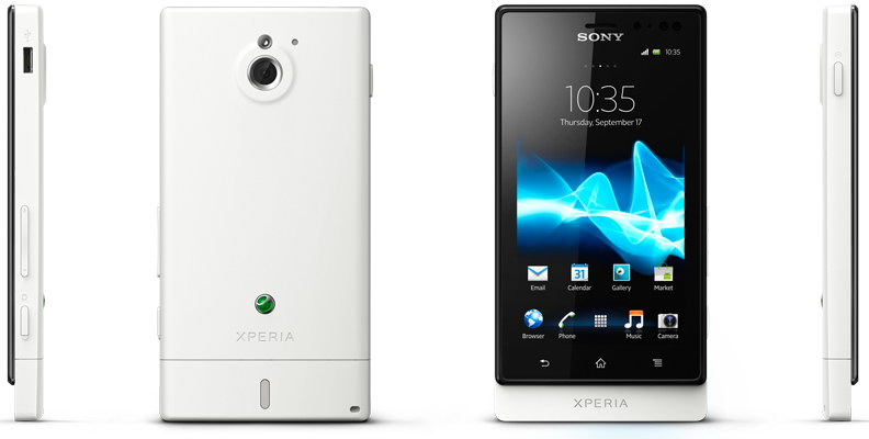 Sony Xperia Sola NFC enabled handset