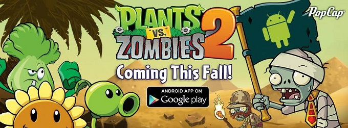 Plants vs Zombies 2 уже и на Android