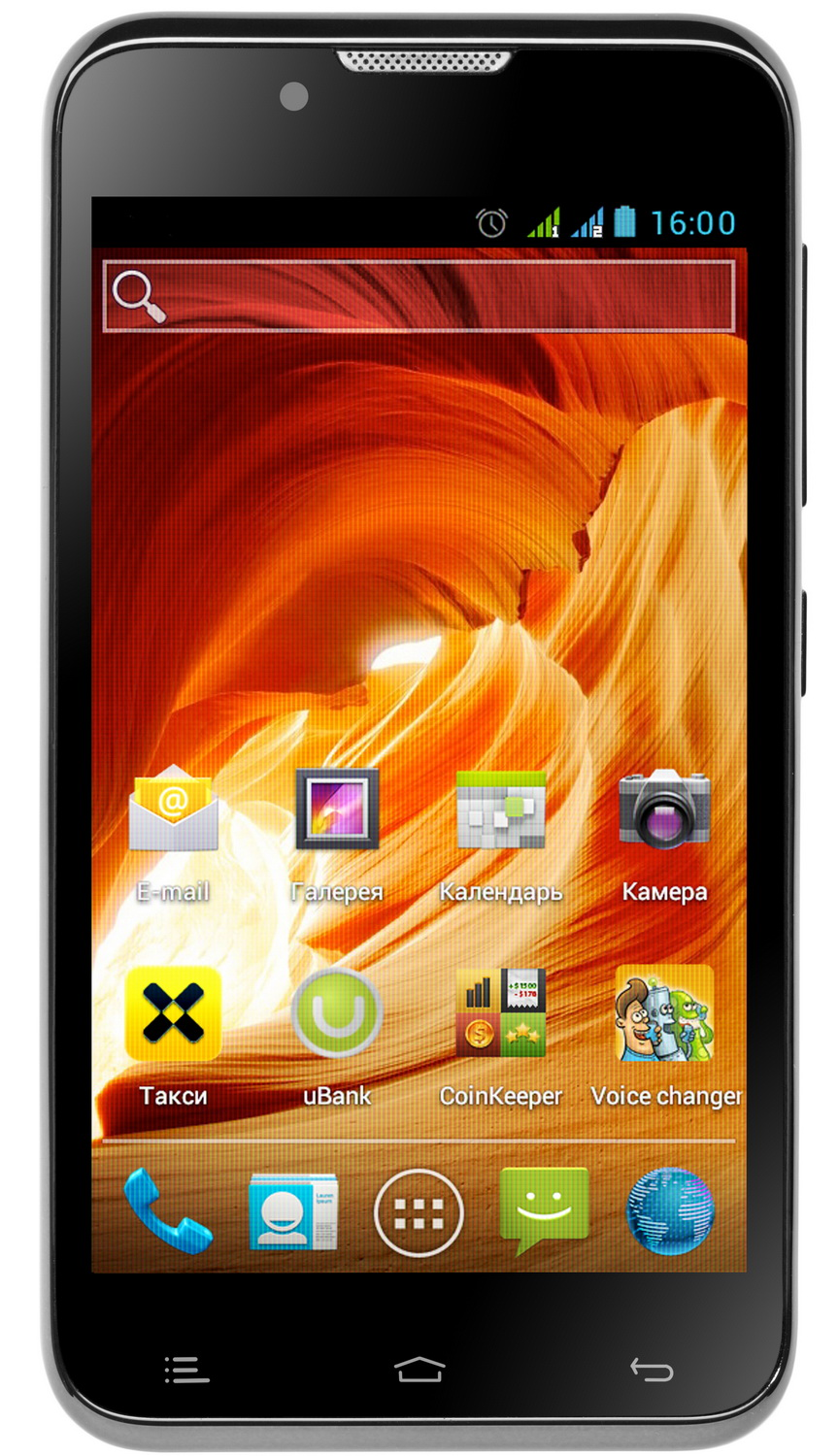 Fly radiance iq441 первый телефон fly с android 4 0