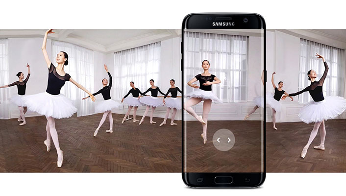 Samsung Galaxy S7 edge и съемка в 4K