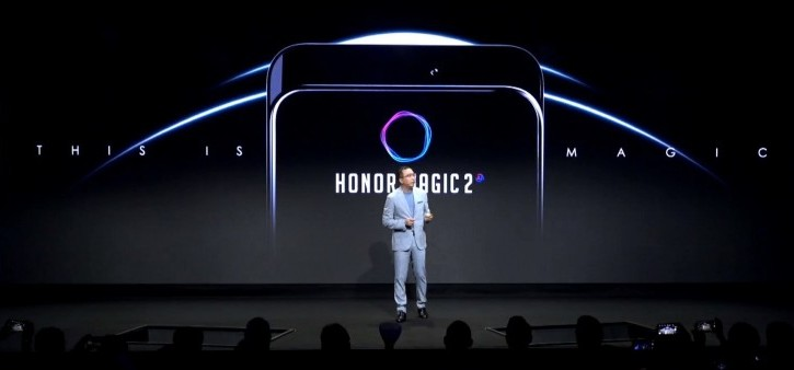 Honor Magic 2 показали на IFA 2018