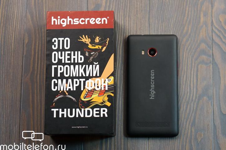 Обзор Highscreen Thunder