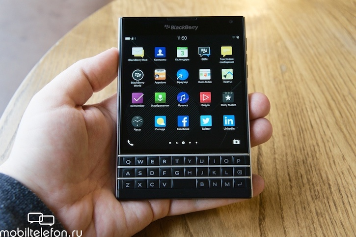 ���������� BlackBerry Passport