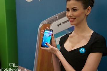 Презентация Motorola Moto X Play, Style, Force и G в России