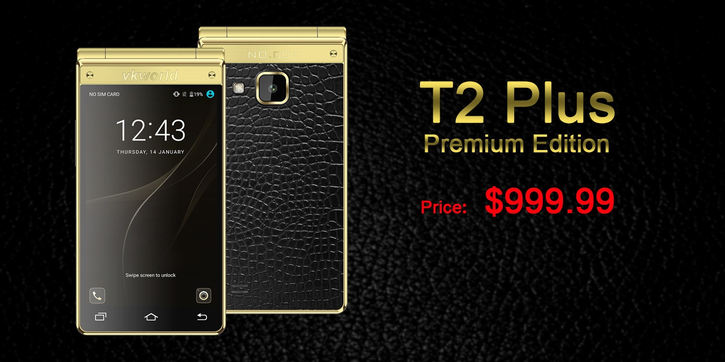 Vkworld T2 Plus Premium Edition будет стоить $999,99