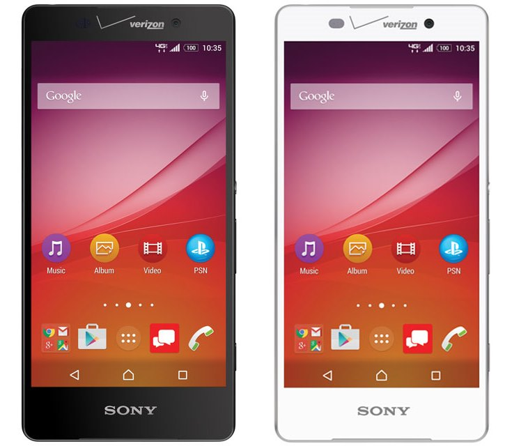 ����� Sony Xperia Z4v � Quad HD-������� ��� Verizon