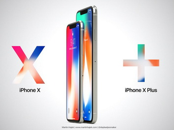 "Концепт iPhone X Plus (2018) с 6,7"" экраном"