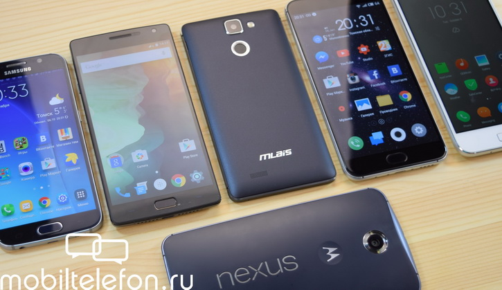 Обзор Android 6.0 Marshmallow на Motorola Nexus 6