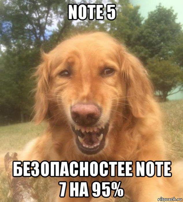 Note 7 мем