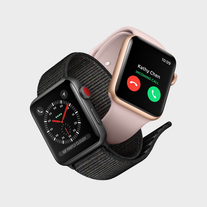 Анонс Apple Watch 3