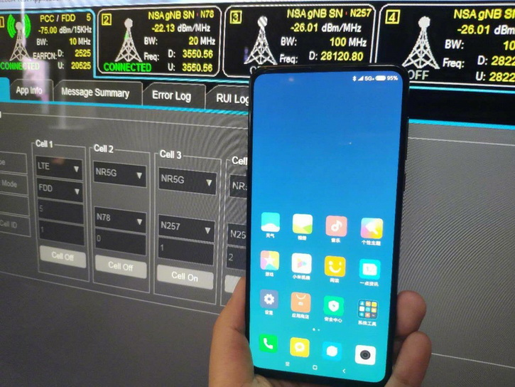 Slider Xiaomi Mi Mix 3 for the first time on video
